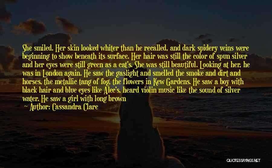 Her Brown Eyes Quotes By Cassandra Clare