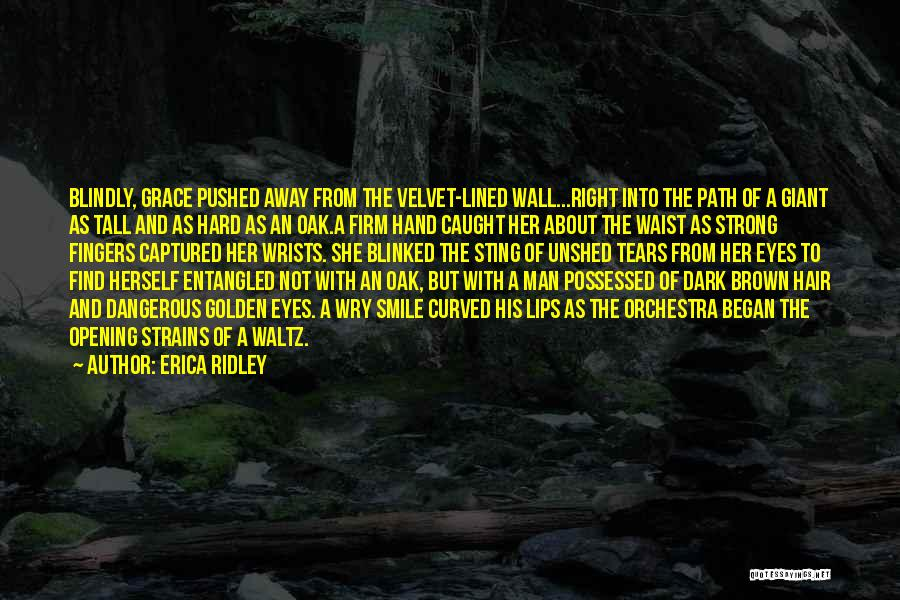 Her Brown Eyes Quotes By Erica Ridley