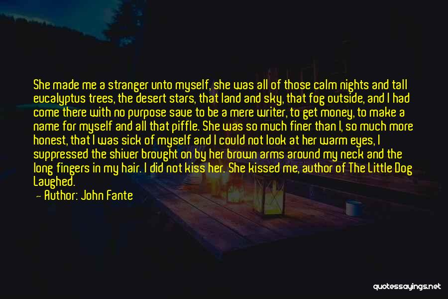 Her Brown Eyes Quotes By John Fante