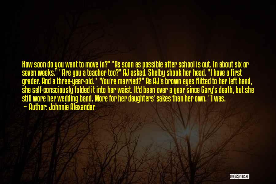 Her Brown Eyes Quotes By Johnnie Alexander