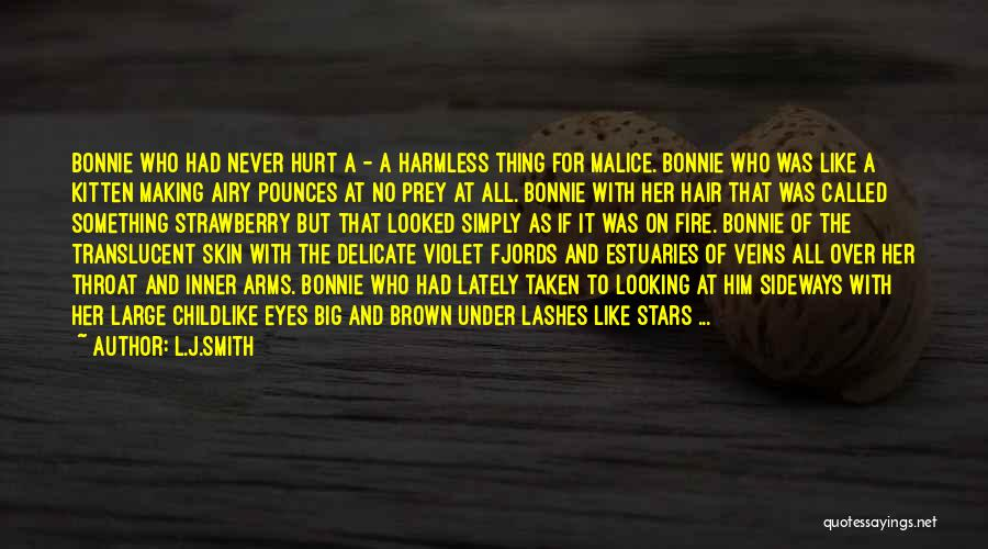 Her Brown Eyes Quotes By L.J.Smith