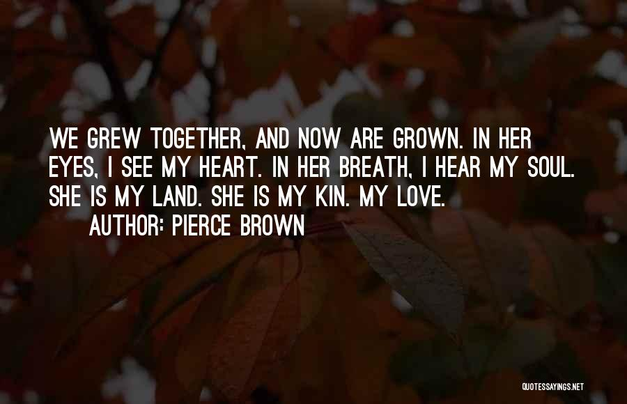 Her Brown Eyes Quotes By Pierce Brown