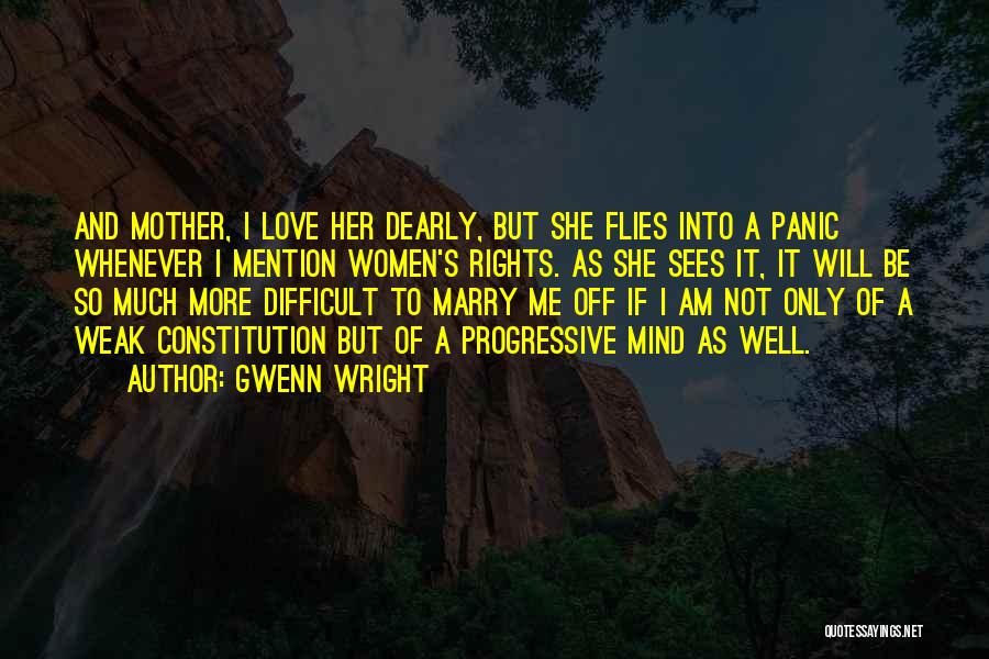 Her To Be Strong Quotes By Gwenn Wright