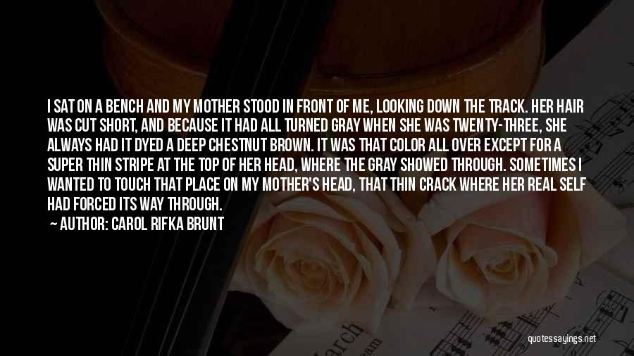 Her When She's Down Quotes By Carol Rifka Brunt