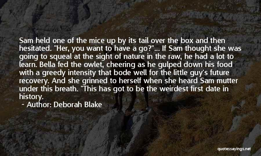 Her When She's Down Quotes By Deborah Blake