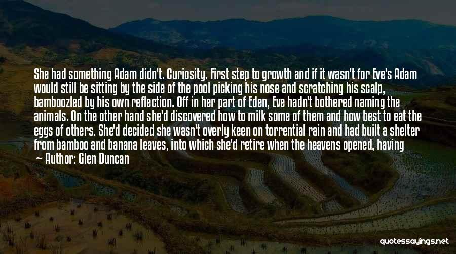 Her When She's Down Quotes By Glen Duncan