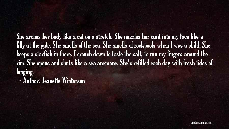Her When She's Down Quotes By Jeanette Winterson