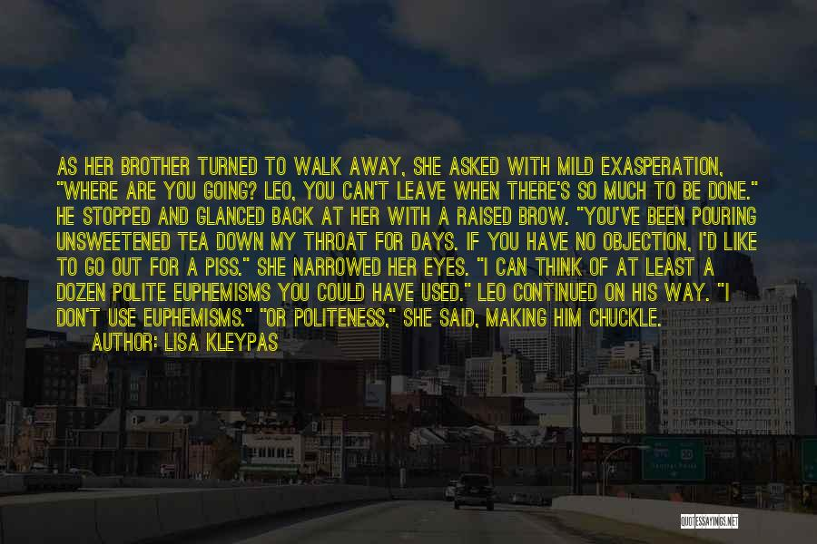 Her When She's Down Quotes By Lisa Kleypas