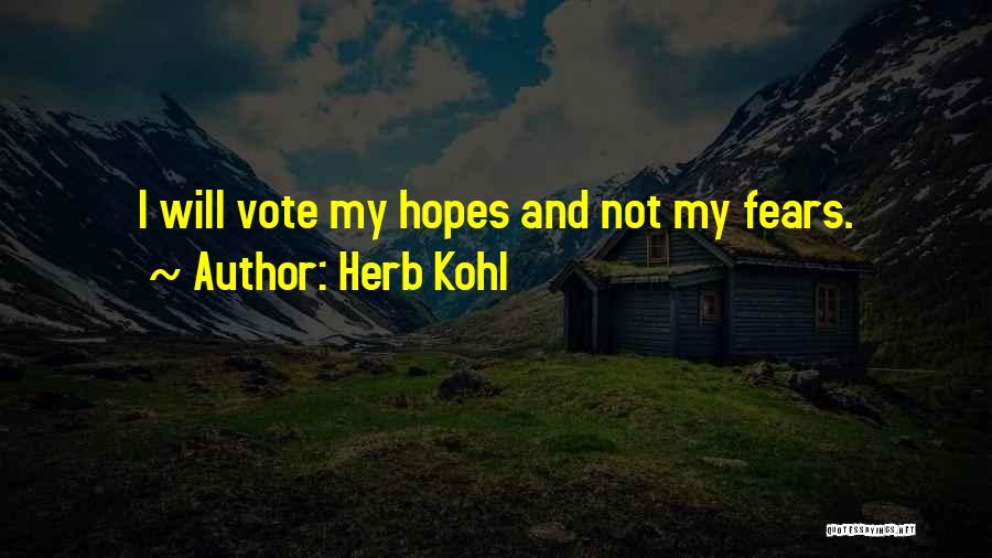 Herb Kohl Quotes 1010129