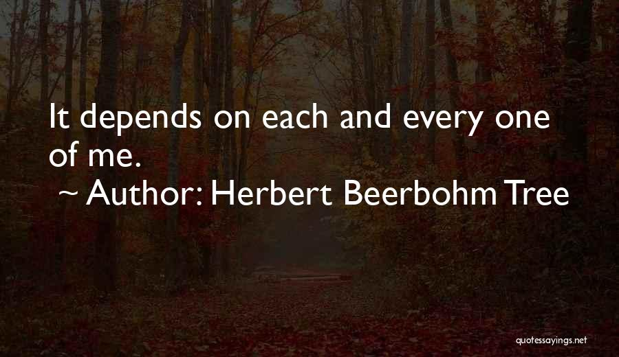Herbert Beerbohm Tree Quotes 1052101