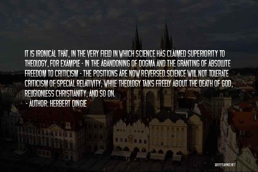 Herbert Dingle Quotes 986613