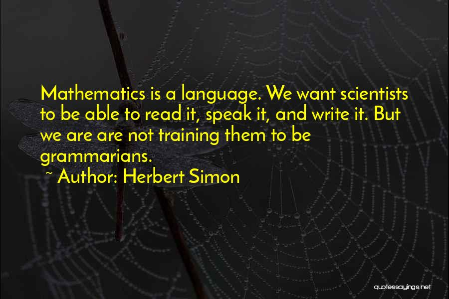 Herbert Simon Quotes 1462148