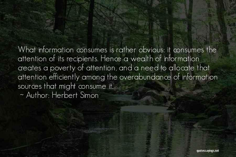 Herbert Simon Quotes 1533247