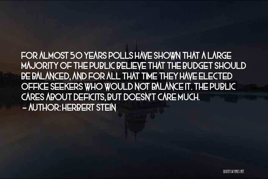 Herbert Stein Quotes 318423