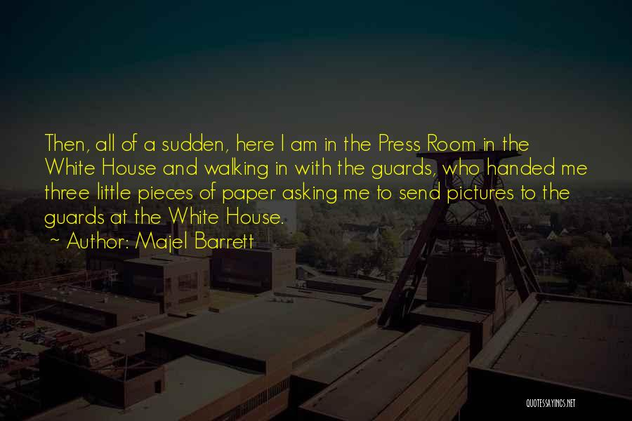 Here I Am Send Me Quotes By Majel Barrett