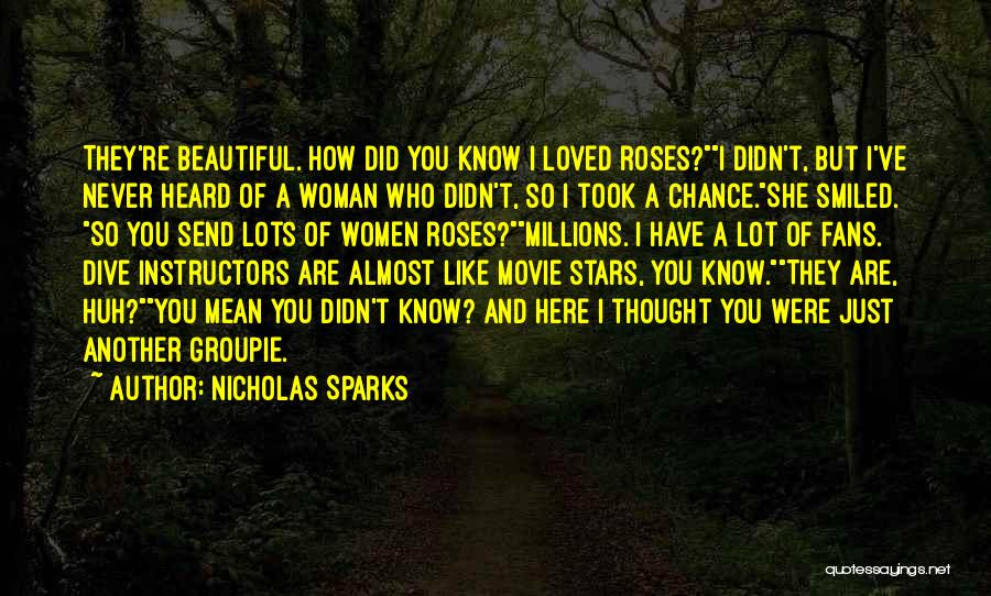 Here I Am Send Me Quotes By Nicholas Sparks