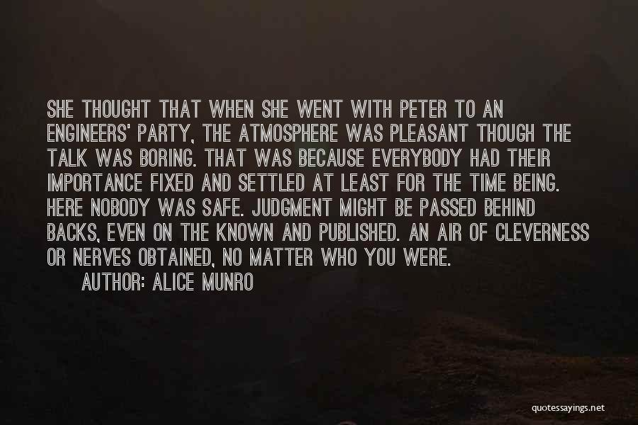 Here She Went Quotes By Alice Munro