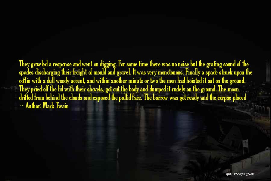 Here She Went Quotes By Mark Twain