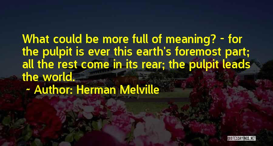 Herman Melville Quotes 1384554