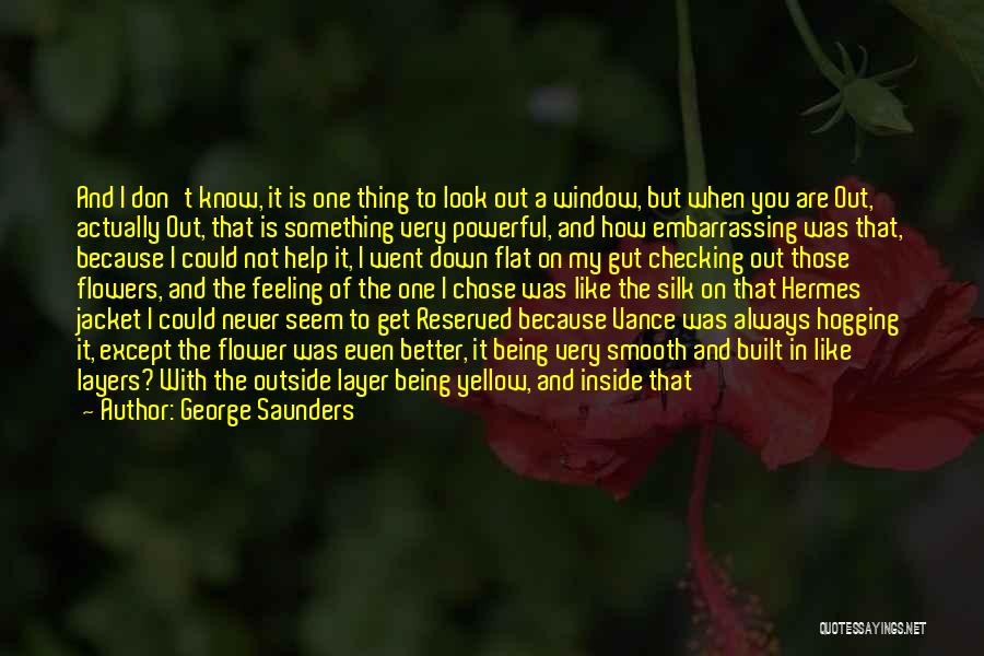 Hermes Quotes By George Saunders