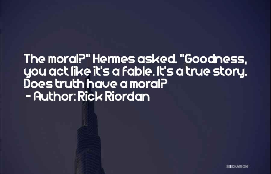 Hermes Quotes By Rick Riordan
