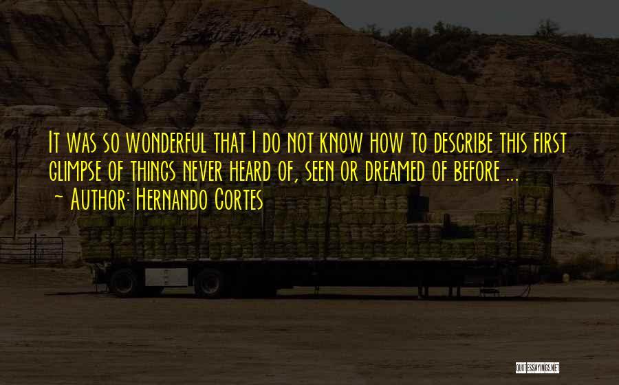Hernando Cortes Quotes 844498