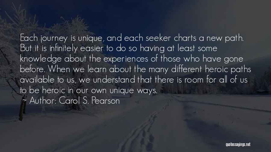 Hero Journey Quotes By Carol S. Pearson