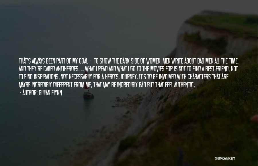 Hero Journey Quotes By Gillian Flynn