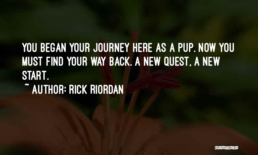 Hero Journey Quotes By Rick Riordan