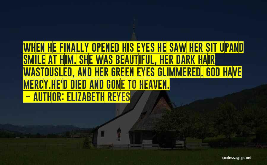 He's Gone To Heaven Quotes By Elizabeth Reyes