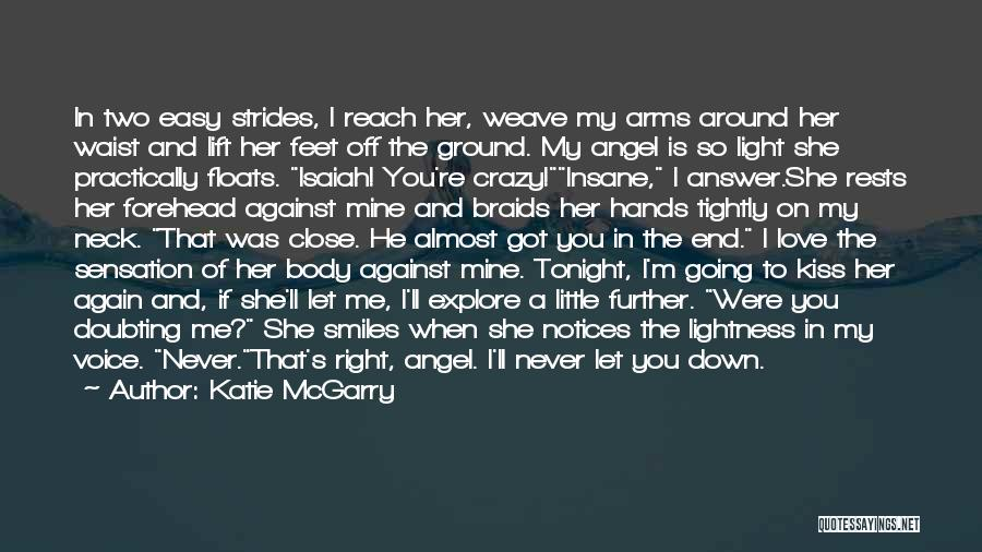 He's Mine Love Quotes By Katie McGarry