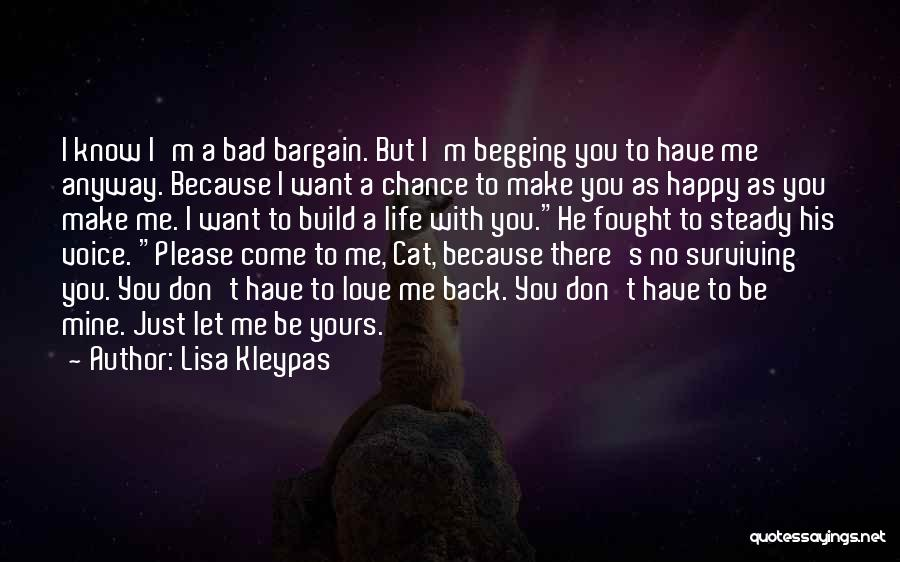 He's Mine Love Quotes By Lisa Kleypas