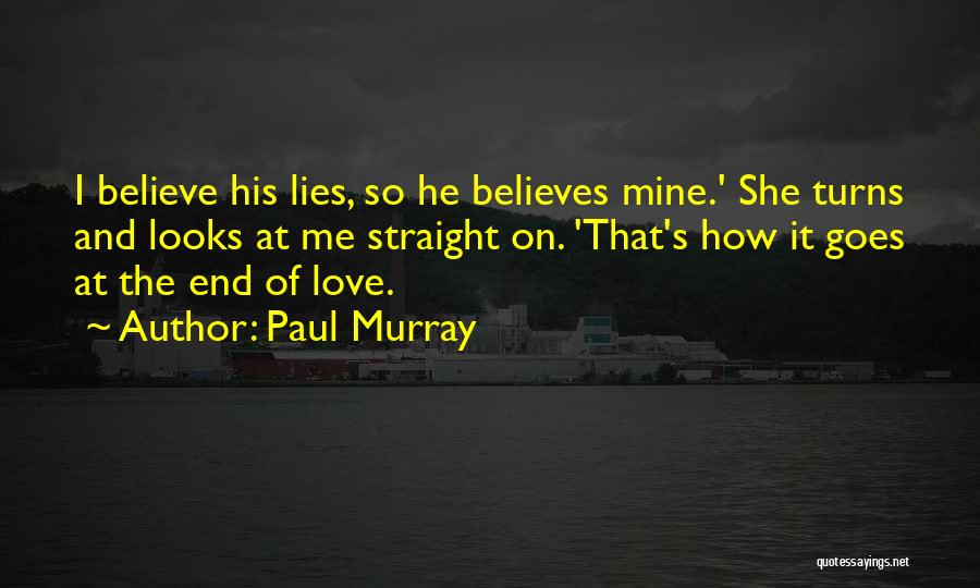 He's Mine Love Quotes By Paul Murray