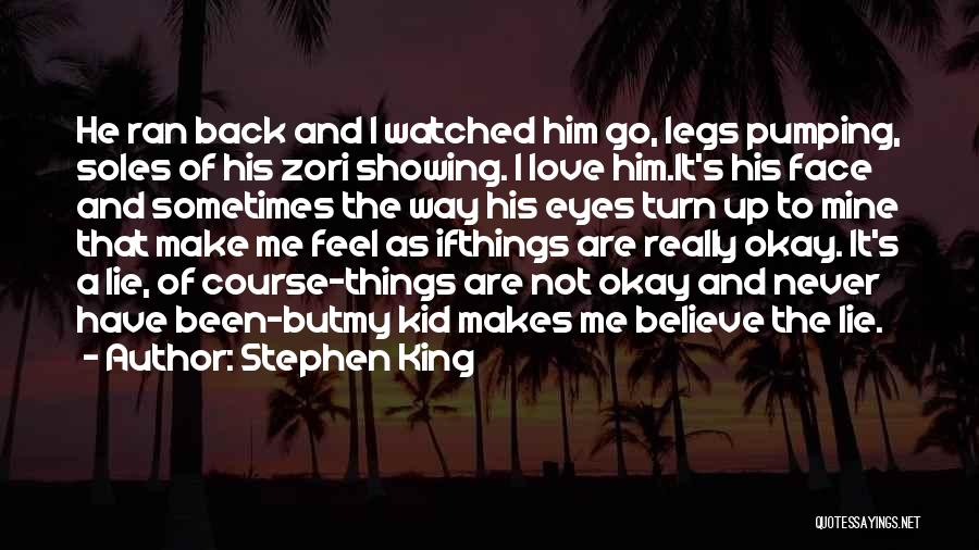 He's Mine Love Quotes By Stephen King
