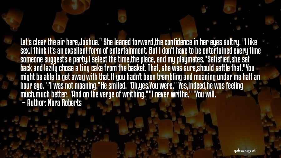 He's My Better Half Quotes By Nora Roberts