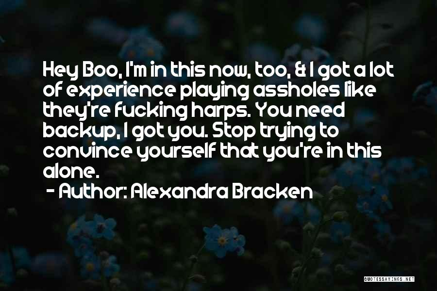 Hey There Boo Boo Quotes By Alexandra Bracken