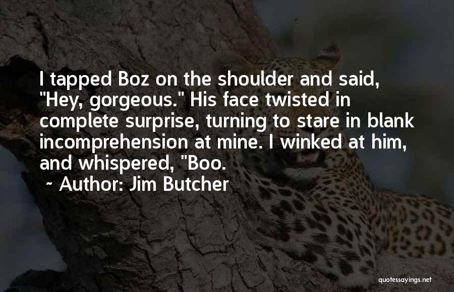 Hey There Boo Boo Quotes By Jim Butcher