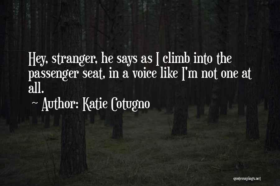 Hey There Stranger Quotes By Katie Cotugno