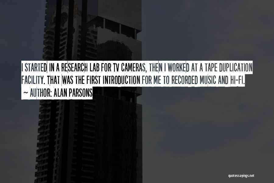 Hi Fi Quotes By Alan Parsons