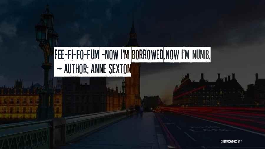 Hi Fi Quotes By Anne Sexton