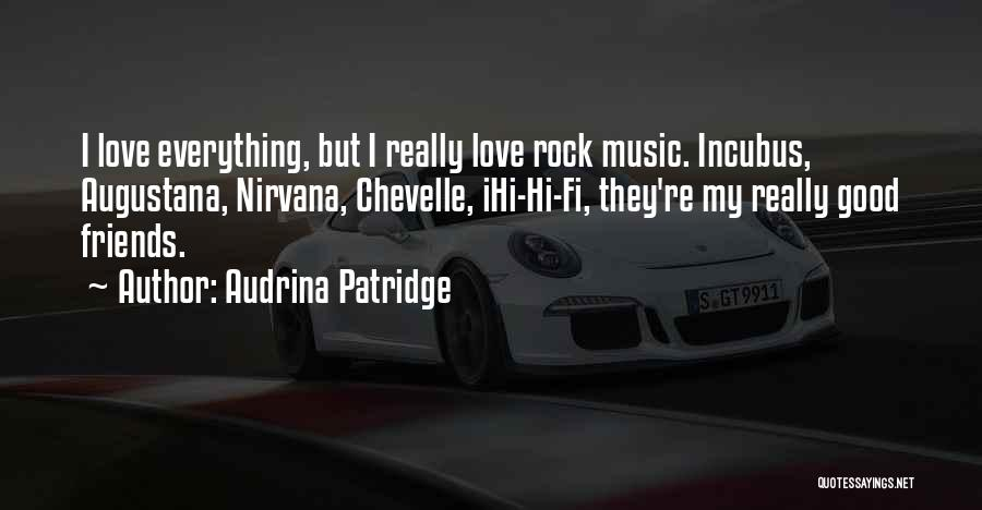 Hi Fi Quotes By Audrina Patridge