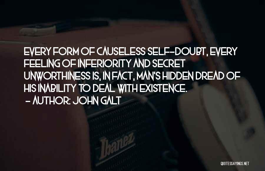Hidden Feelings For Someone Quotes By John Galt