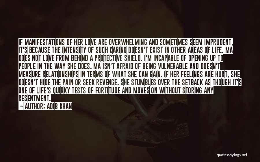 Hide Feelings Love Quotes By Adib Khan