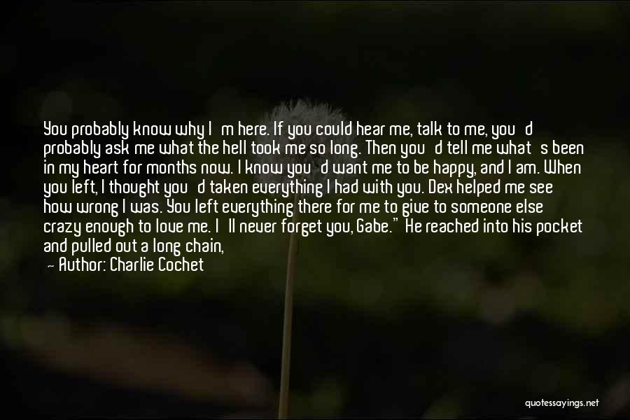 Hide The Tears Quotes By Charlie Cochet