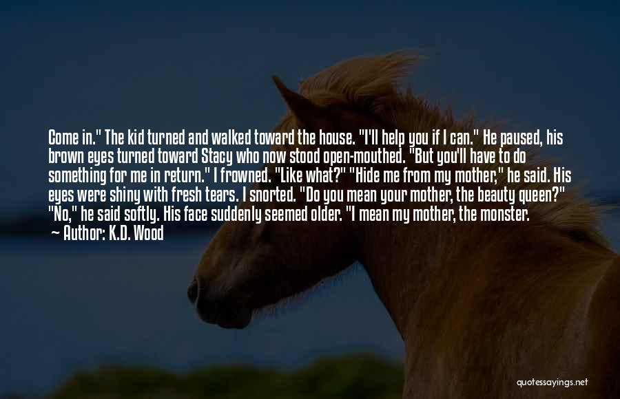 Hide The Tears Quotes By K.D. Wood
