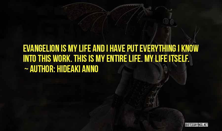 Hideaki Anno Quotes 340428