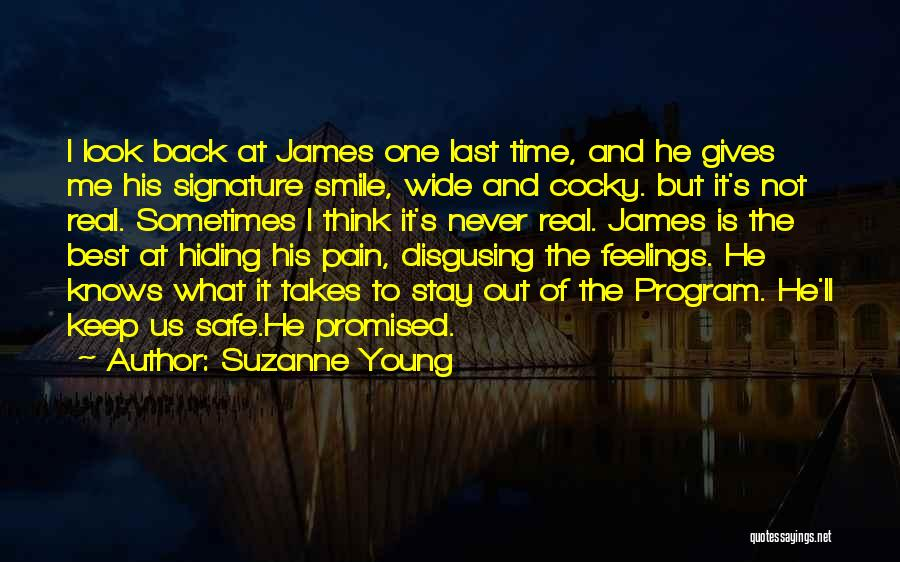Hiding Feelings Quotes By Suzanne Young