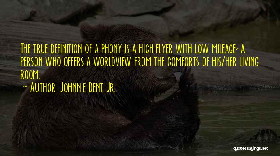 High Flyer Quotes By Johnnie Dent Jr.