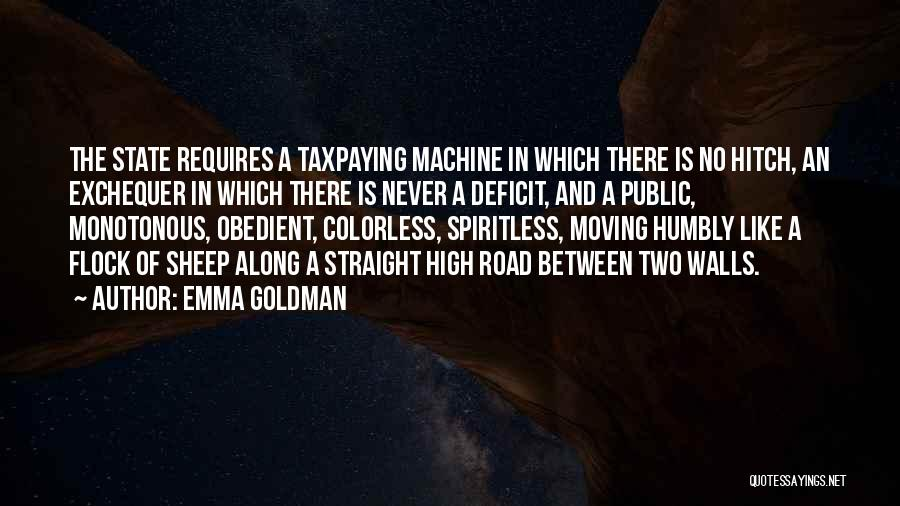 High Road Quotes By Emma Goldman