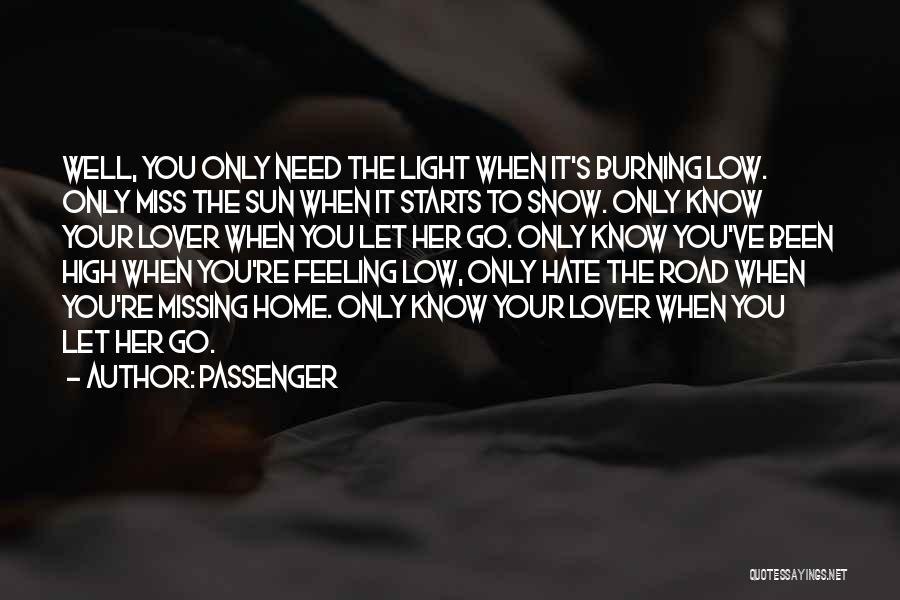 High Road Quotes By Passenger